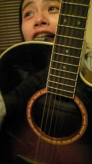 *今さっきギターを…*