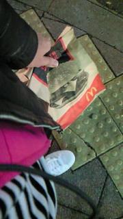 *マクドナルドでエコ。*